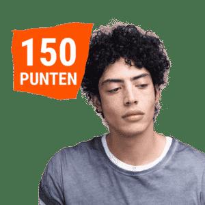150 punten energy boost hoofdhuid