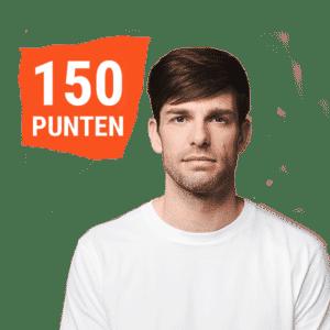 150 punten gewenst product