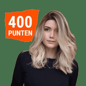 400 punten 5 folies