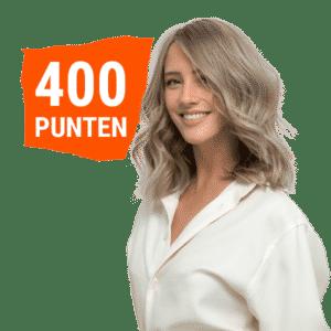 400 punten Gellac behandeling icm haar