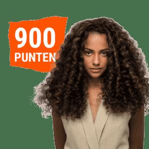 900 punten €30 beloning kleurbehandeling